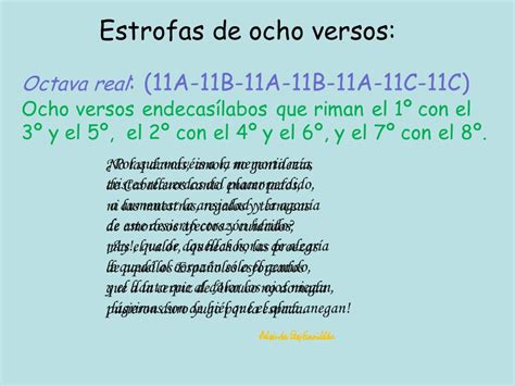 poemas de 4 estrofas de padre de 8 silabas estrofas y poemas ppt video online descargar