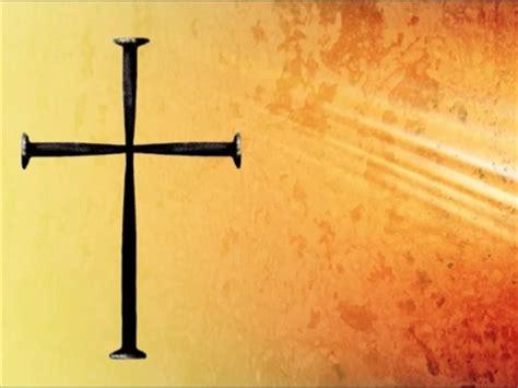 grunge nail cross background | videos2worship