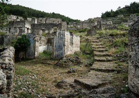Italian House Plans kayakoy the greek ghost town in turkey lateet