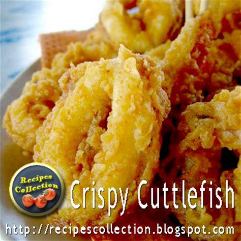 Cuttlefish Recipe
