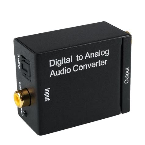 Sale Av To Rf Converter dac digital optical spdif coax to analog l r rca audio converter adapt etzetra