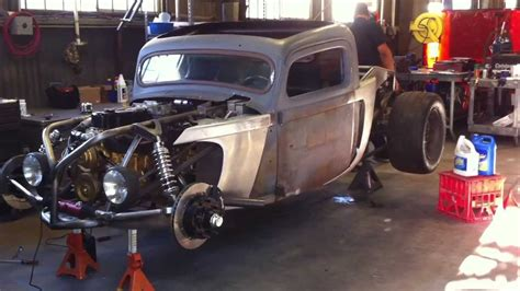 1937 rod build start up