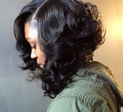short black hair sew ins how sew ins helped me transition to all natural black