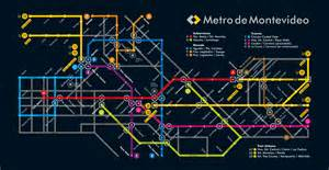 Or at least you would if the montevideo metro were real