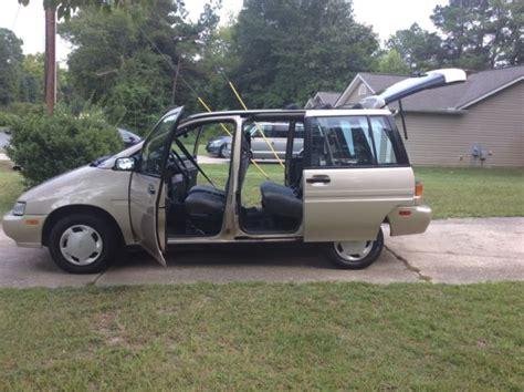 Nissan Axxess by 1990 Nissan Axxess Xe Wagon 4 Door 2 4l