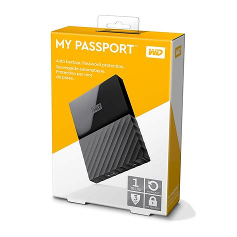 Wd My Passport 1tb Resmi wd my passport 1tb portable external drive black