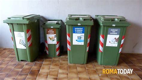 raccolta differenziata porta a porta roma differenziata a nuova tor vergata tutto pronto per l