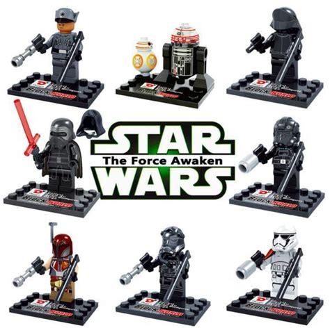 Lego Bootleg Wars The Awakens 2018 wars awakens 7lego minifigures building