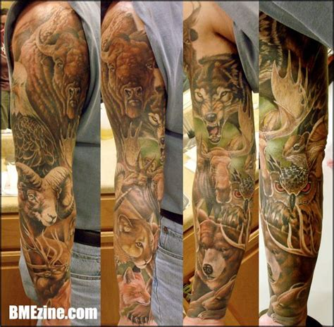tattoo animal half sleeve 18 best images about tattoos on pinterest body
