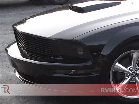 mustang hid lights rtint 174 ford mustang 2005 2009 headlight tint