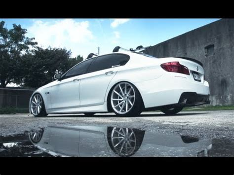 bmw f10 | vossen cvt directional wheels | rims youtube
