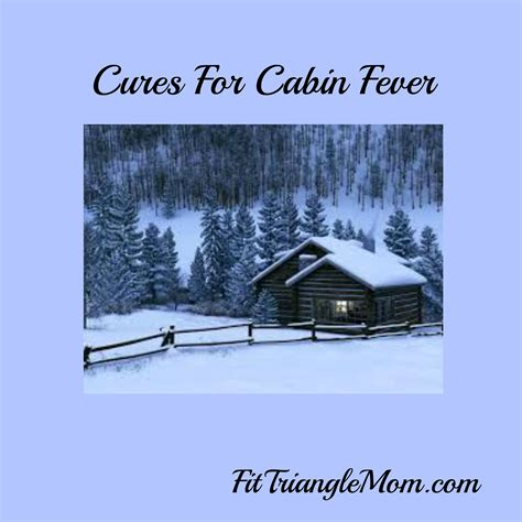 Cure Cabin Fever by Cures For Cabin Fever Fit Triangle