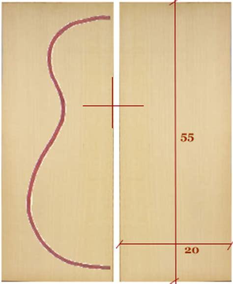 tavola armonica dal nudo legno liutaio fai da te