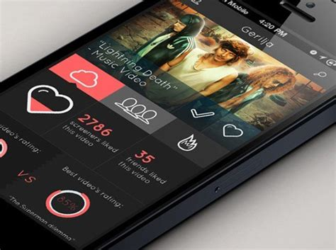 design concept app 30 exles of minimal mobile ui design with ux