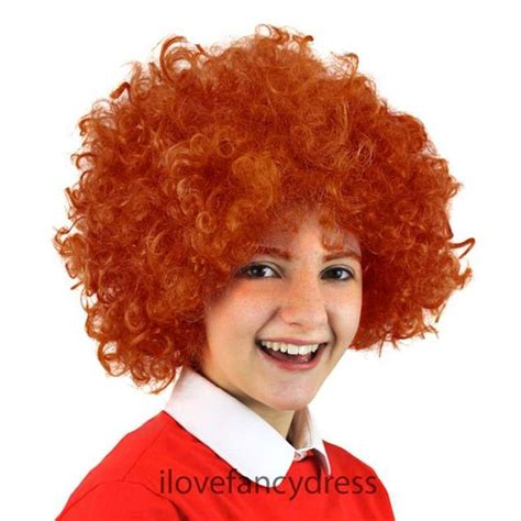 home wigs mens wigs black clown afro wig black clown afro childs ginger afro wig