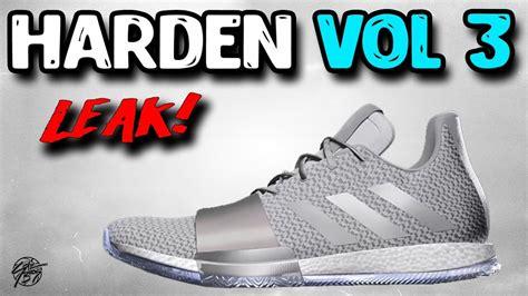 Adidas James Harden Vol. 3 LEAK!   YouTube