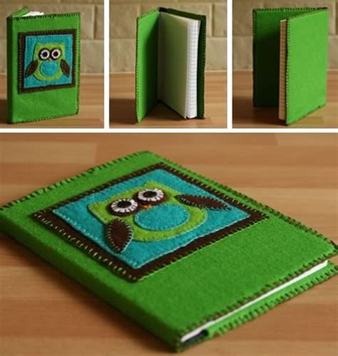 Handmade Book Cover Ideas - diy gift ideas for your friends