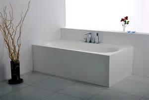 badewannen eckig freistehende eckige mineralguss badewanne 0101012 in der