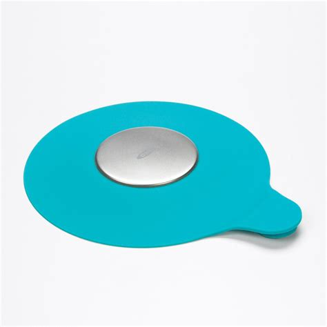 bathtub silicone amazon com oxo tot silicone tub drain stopper aqua