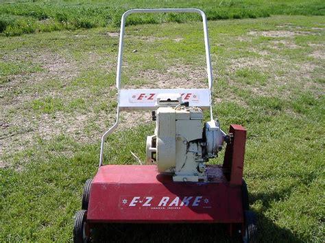Landscape Power Rake For Sale Ez Rake Lawn Dethatcher For Sale Lawnsite