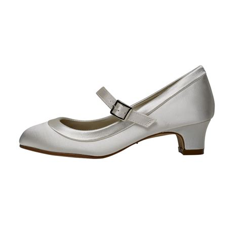 Rainbow Schuhe Ivory by Rainbow Club Maisie Ivory Satin Bar Shoes Shoes Co Uk
