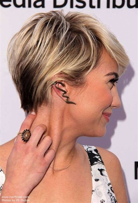 haircut short around ears and tapered in the back chelsea kane s pixie short cropped hairstyle and soft