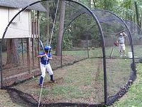 Backyard Batting Cage Ideas by Baseball Batting Cage Ideas On Backyards