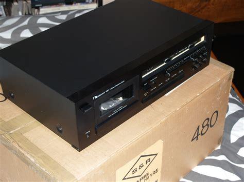 nakamichi 480 cassette deck nakamichi 480 image 727758 audiofanzine