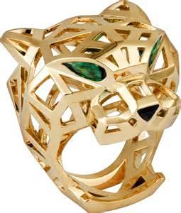 Cartier Jaguar Ring Price Crn4722500 Panth 232 Re De Cartier Ring Yellow Gold