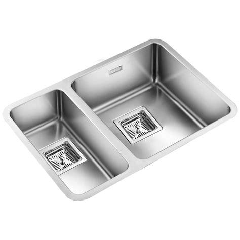 undermount kitchen sinks uk astini vico 1 5 bowl silk stainless steel undermount kitchen sink as369lhsb
