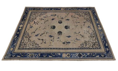 chinoiserie rug antique peking rug with chinoiserie style for sale at 1stdibs