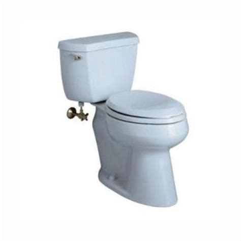 kohler wellworth toilet comfort height kohler wellworth comfort height 2 piece 1 6 gpf elongated