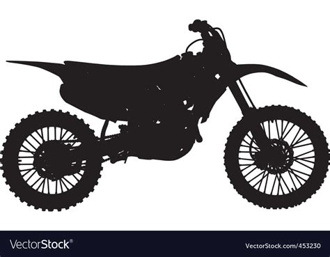 motocross bike free motocross bike royalty free vector image vectorstock