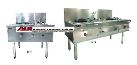 Kompor Wok aneka utama indah stainless steel gas kwali range kompor wok range standar restoran hotel dll