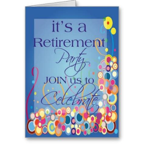 free retirement flyers templates cliparts co
