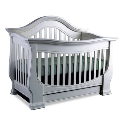 Davenport Convertible Crib Baby Appleseed Davenport 3 In 1 Convertible Crib In Moon Gray Free Shipping
