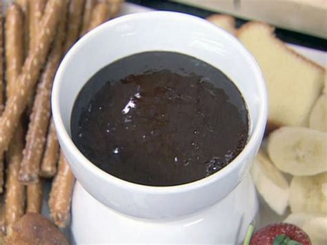 ina garten chocolate fondue chocolate orange fondue recipe ina garten food network