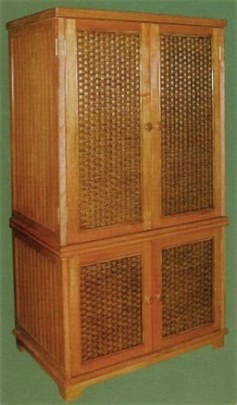 Wicker Armoire Wardrobe by Wicker Armoire Door Wardrobe Wicker Wardrobe