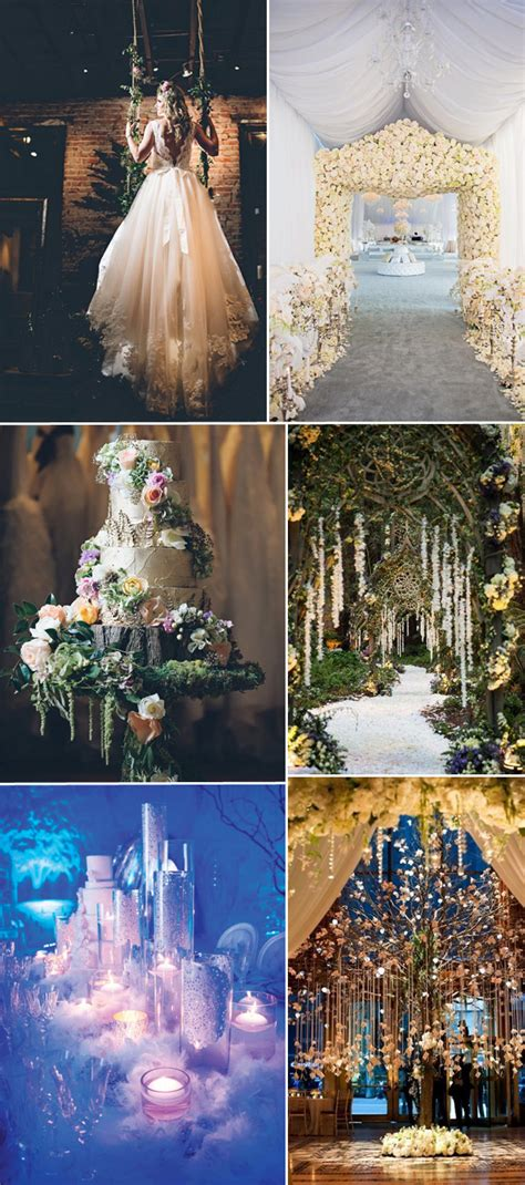 Fairytale Themed Decorations by Top 6 Wedding Theme Ideas For 2016 Tulle Chantilly