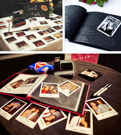 polaroid picture wedding guest book the paisley press 10 guest book ideas to be continued