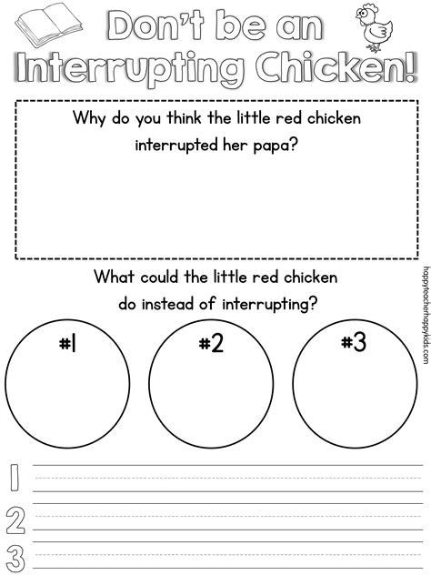 interrupting chicken coloring page pinterest find interrupting chicken activities