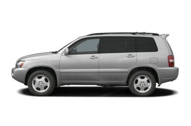 2004 toyota highlander specs, safety rating & mpg carsdirect