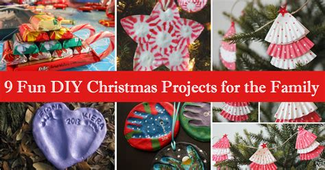 9 fun diy christmas projects for the family cute diy