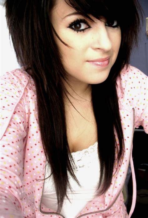 emo ish hair styles medium long emo hair