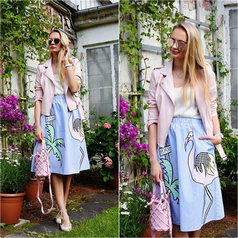 Jaket Wanita Jaket Flaminggo Flamingo Jaket Terbaru madara l boohoo pink faux leather jaket zaful striped summer skirt zaful bag