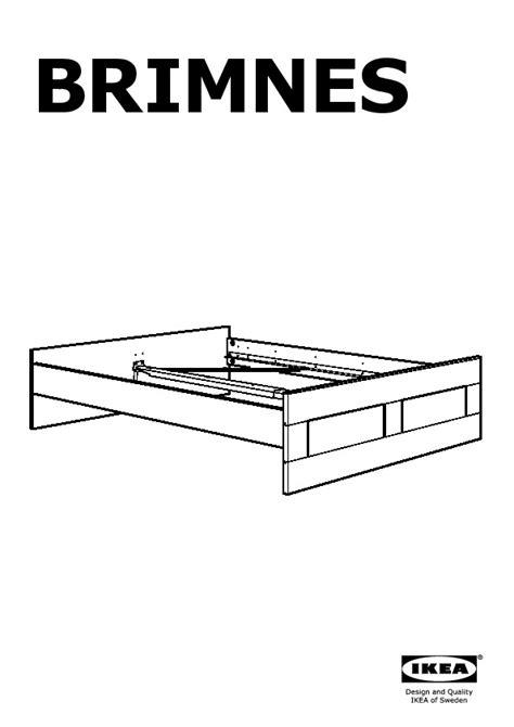 bed frame assembly brimnes bed frame white ikea united kingdom ikeapedia