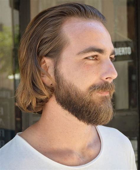 current moustache styles and lengths 50 latest long hairstyles for men 2018 special updated