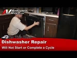Kitchenaid Dishwasher Not Completing Cycle Maytag Dishwasher Touch Pad Problem Repair Fix Mdb7601