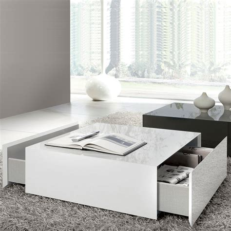 white coffee table drawing of wide designs of white coffee table with storage