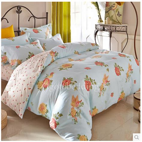 floral comforter sets full ligh blue floral country romantic full size teen bedding